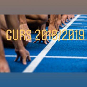 Comencem el nou curs 2018/2019 amb força