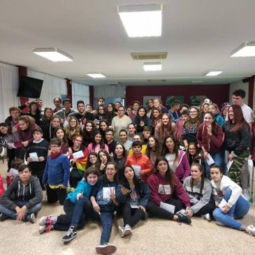 Primera trobada d'alumnat mediador, curs 2018/2019