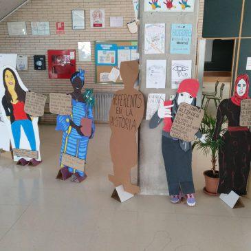 Exposició de dones referents en la història