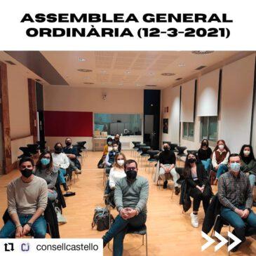 FADES  participa a l'Assemblea general ordinària del Consell de la Joventut de Castelló