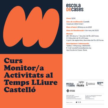 Curs de Monitor/a Activitats al Temps Lliure en Castelló