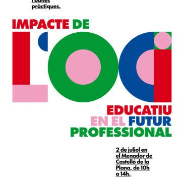 El 2 de juliol, nova jornada: L'impacte de l'oci educatiu en el futur professional